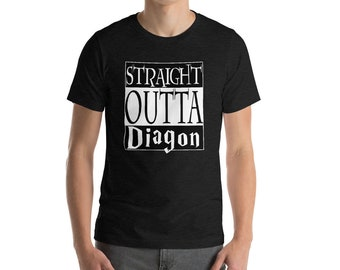 Straight Outta Diagon / Harry Potter Shirt / Hogwarts Shirts / Harry Shirt / Potter Shirt / Harry Potter / Hogwarts / Harry Potter t-shirt /
