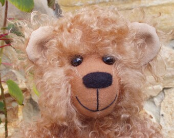 "OOAK Mohair Bear - ""Charles"""