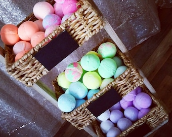 Wholesale 100 small bath bombs