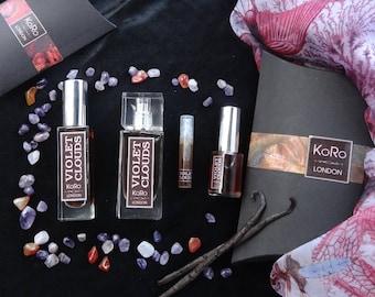 VIOLET CLOUDS Natural Perfume