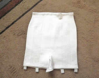 Vintage Girdle Four Garters Never Worn Size S to M
