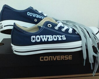 Dallas Cowboys Converse Chucks Mens Womens
