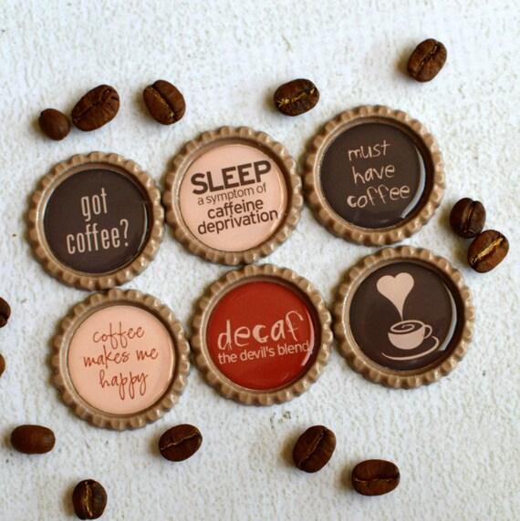 Kaffee Küche Dekor Strong Bottlecap Magnete-Funny Kaffee