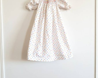 Vintage Smocked Nightgown