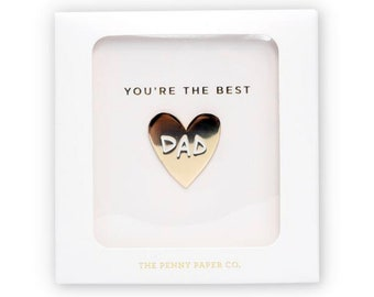 You're The Best Dad, Enamel Pin Gift Set