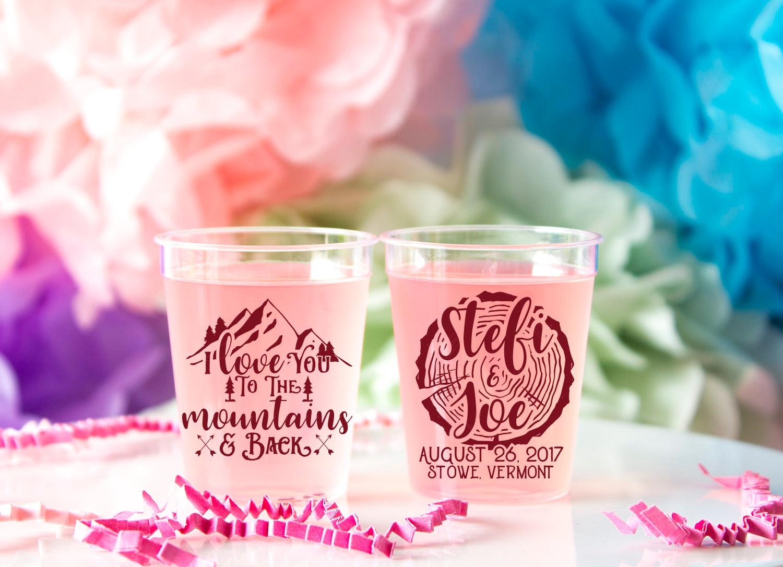 Wedding Shot Glass Woodland Wedding Forest Wedding Mountain