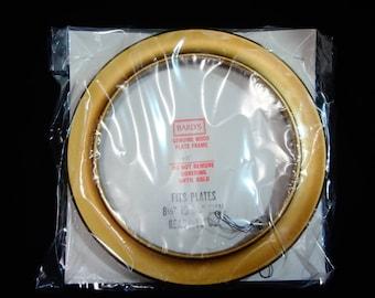 BARD'S Hardwood GOLD Plate Frame #481