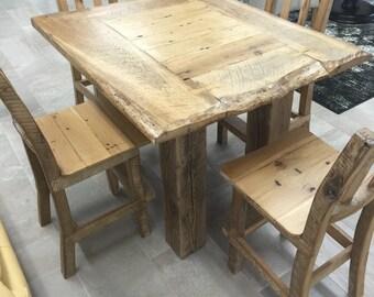 Rustic Pub Table
