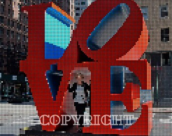 Love ~ iconic pop art sculpture in New York