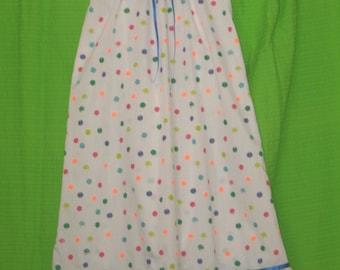 Girls Coloured Spots Nightie size 7