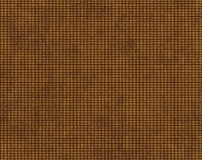 Half Yard Sports Fan - Vintage Sports Texture in Gold - Cotton Quilt Fabric - by Peter Horjus for Blend Fabrics - 116.103.03.1 (W3354)