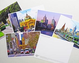 Melbourne Travellers Postcard Set