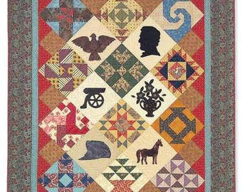 Civil War Moments by Painted Pony 'n Quilts - Quilt Pattern