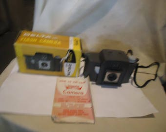 Vintage Imperial Delta 127 Flash Camera In Box With Instructions,  collectable
