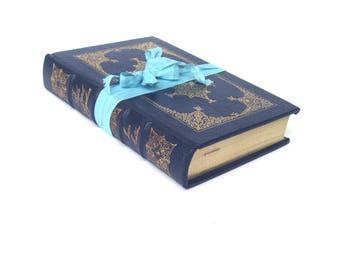 Pride and Prejudice Easton Press  Blue Leather Edition, Collector's Edition, Gold Leaf Edition, Austen Wedding, Vintage Jane Austen Book