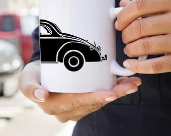 KillerBeeMoto:   Vintage Bootlegger Moonshiner Coupe Coffee Mug