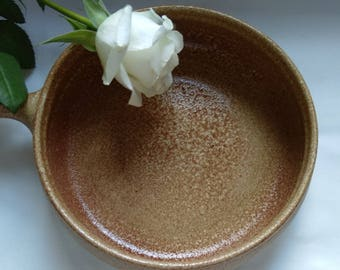 Vintage Stoneware Soup Bowl/Dish From Portugal