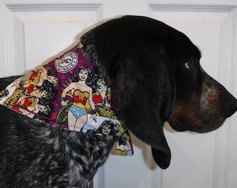 Wonder Woman Dog Bandanna