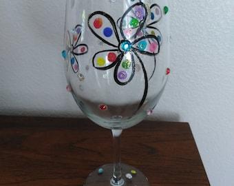 Bling Bling Wine Glass