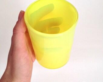 Trans Safety Yellow Tumbler