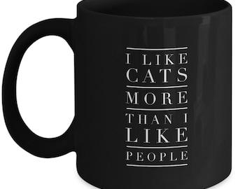 Cat Coffee Mug | Funny Cat Mug | Cat Mug | Cat Gift | Cat Lover Gift | Cat Humor | Cat Lady | Cat Lover Gift | Coffee Cup | Cat Funny Mug