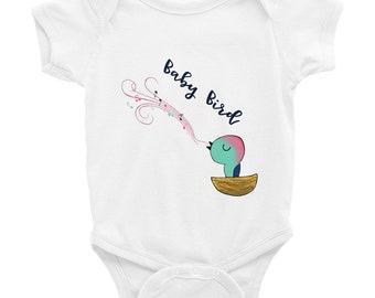 Baby Bird Singing Infant Bodysuit