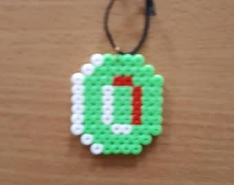 Super Mario Coin Christmas Tree Ornament Beads