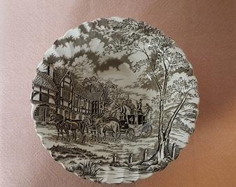 Royal Mail Myott Staffordshire Fine Ironstone Scalloped Bowl
