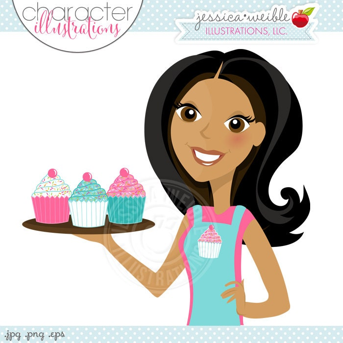 zoom - Woman Decorating Cupcakes