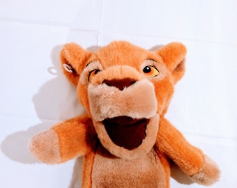 Vintage Walt Disneys The Lion King Hand Puppet