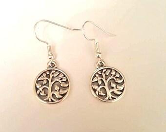 Tree of Life Earrings/ Tree Earrings/ Tree of Life Jewelry/