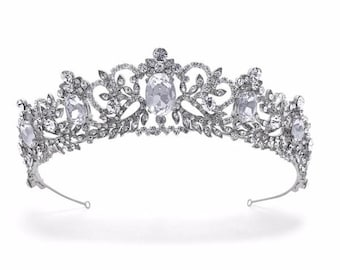 Beau Bridals | Bridal Tiara | Vintage Tiara | Tiara Crown | Regal Tiara | Vintage Bride | Bridal Hair Accessories | Bridal Hair | Bridal