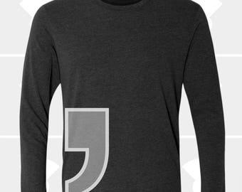 Comma - Unisex Long Sleeve Shirt