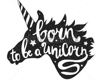 Unicorn_SVG cut file
