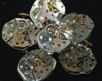 Vintage Antique Watch Movements Steampunk Altered Art RE 32