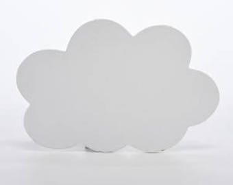 White CLOUD door plaque - NEW!