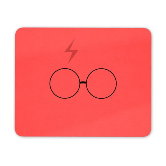 Harry P inspired mouse pad red - mouse mat - desktop mouse mat - funny mouse mat - computer pad 3P010