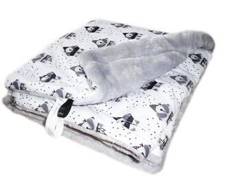 Indian RACCOON RACCOON - Cosy down cozy baby blanket