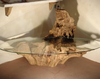 Oak Root coffee table