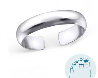 925 Sterling Silver Toering plain without gemstones