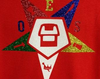 OES Glitter Star T-shirt