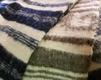 Sheeps Wool Blanket/Wool Blanket/Blanket/Wool/Guatemalan/Handmade/Housewarming Gift/Gift/