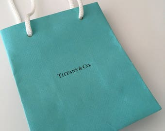 Tiffany & Co Shopping Bag Jewelry Presentation Gift Bag