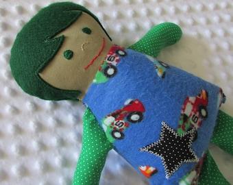 Oscar Small Handmade Baby Doll