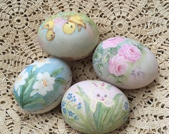 M.D. Could Paint A Vintage Bisque Porcelain Egg