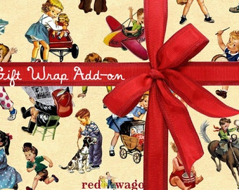 Gift Wrap Add-On Wrapping service