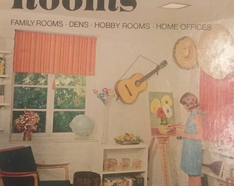 Set of 3 1973-74 Sunset Books- Cabins & Vacations Homes-Storage-Recreation Rooms