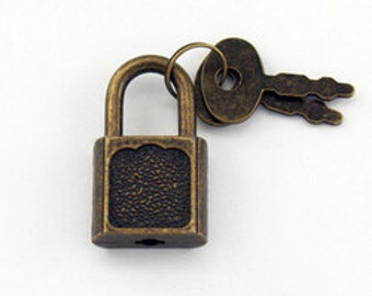 Latch and Padlock with Keys Add On