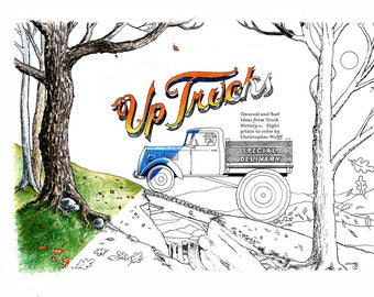 Up Trucks - The Beginning, Coloring Pages