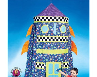 McCall's Sewing Pattern M7419 Rocket Play Tent